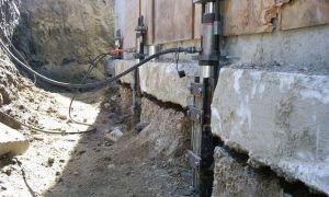 Реставрация и ремонт фундамента дома винтовыми сваями