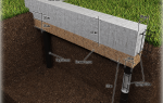 Буронабивные сваи с ростверком, технология строительства