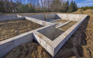 Сколько надо кубов бетона на ленточный фундамент