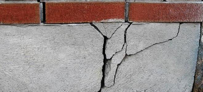 Как укрепить фундамент если пошла трещина на стене: что делать если лопнул фундамент
