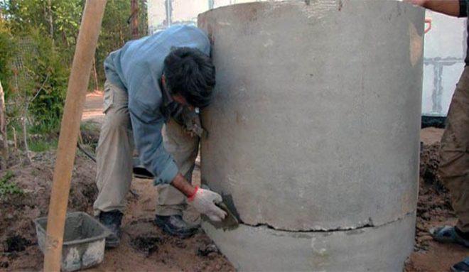 Гидроизоляция колодца из бетонных колец снаружи